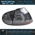 Авто Освещение Стиль СВЕТОДИОДНЫЕ Задние Лампы для VW Golf 5 led задний фонарь 2004-2008 Golf5 задний багажник лампы крышка drl + сигнал + тормозная + обратный