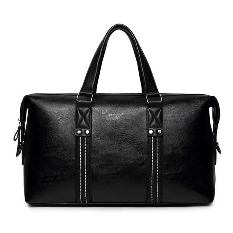 ФОТО 2016 New PU Leather Men Shoulder Messenger Bag Business Brand Designer Leather Crossbody Handbag Man Travel Bag