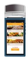 KIMI V1 taşınabilir pos yazıcı ile Sunmi V1 android PDA 5.5 inç Dokunmatik 3G Wifi Bluetooth iBeacon 58mm Yazıcı ile dahili|Yüz Tanıma Cihazı|   -