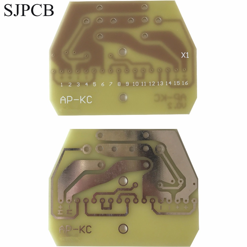 Sjpcb Manufacturer 2 Layers Pcb Sample Custom Prototype Printed Six Layer Circuit Board Small Quantity Fast Run Service Need Send Files In Double Sided From