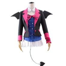 Cosplay Costume Devil love live lovelive Rin Hoshizora Kotori Minami Suit Womens Dress