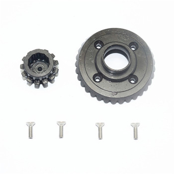 Ring & Pinion Gear HD For Traxxas 1:7 UDR1200S Unlimited Desert RC Car Parts Inside Rear Gearbox Rear Diff image