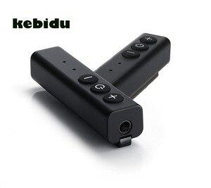 Image 1 - Kebidu البسيطة 5 V/1A القلم كليب بلوتوث استقبال 3.5 مللي متر Aux المدخلات المصغّر usb متعددة وظيفة زر مع MIC ل هاتف ذكي جهاز