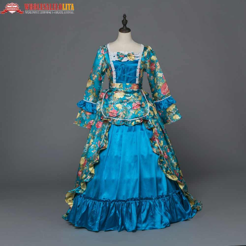 Detail Feedback Questions about New Holiday Marie Antoinette Dress  Renaissance Princess Victorian Cinderella Gown Dress Theater Women Halloween  Costume on ... 4b12804463d3