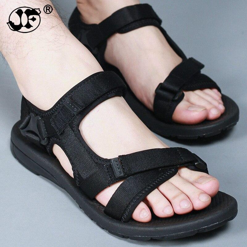 Brand Fashion Men Beach Sandals, High Quality Summer Leather Men Sandals 786