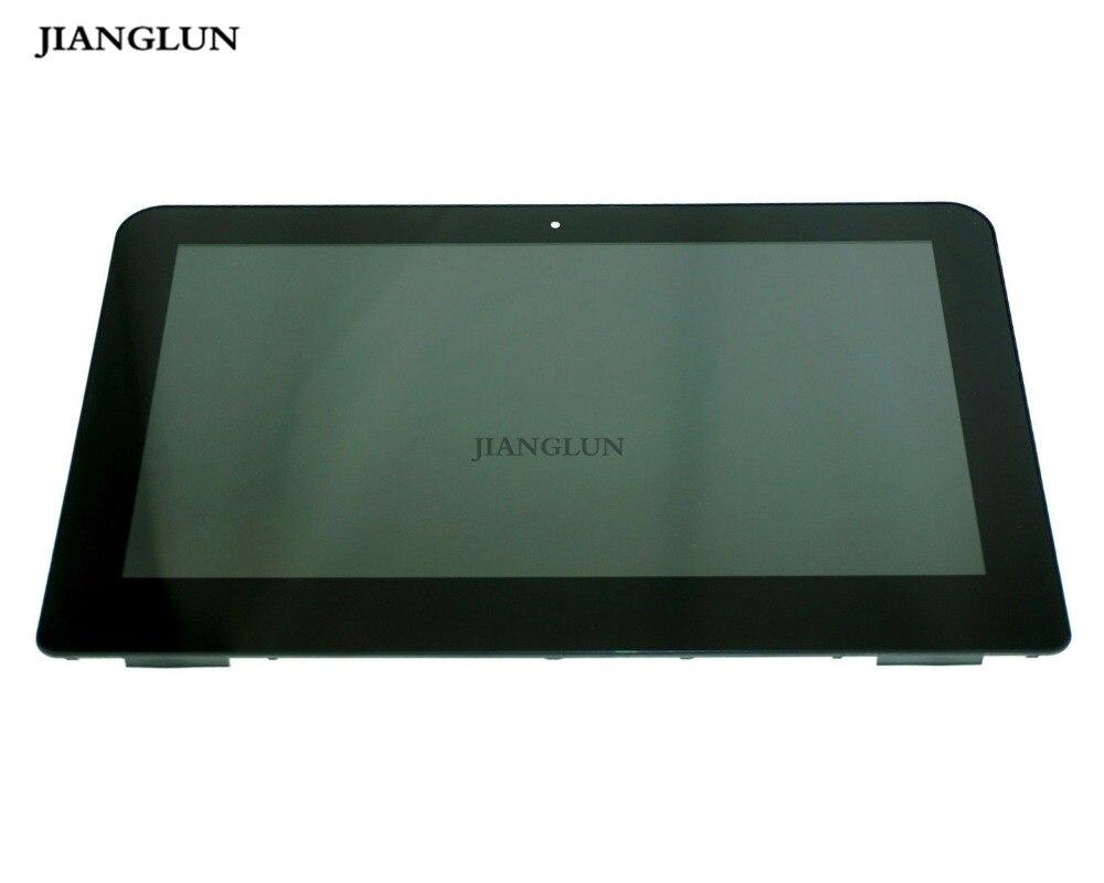 JIANGLUN Nouveau Pour HP 11-K 11-K161NR B116XAN04.0 LCD Affichage Tactile Assemblée D'écran 809549-001 11.6