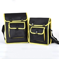 Urijk 2Sizes Oxford Tool Bag Multifunction Electric Network Repairing Set Strap Satchel Wearable Buckle Strap Thick