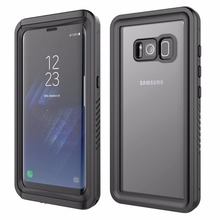 For Samsung Galaxy S8 Waterproof case life water Shock Dirt Snow Proof Protection for Galaxy S8 Plus case With Touch  ID Cover for galaxy s8 plus case shock dirt snow proof protection for samsung galaxy s8 with touch id cover