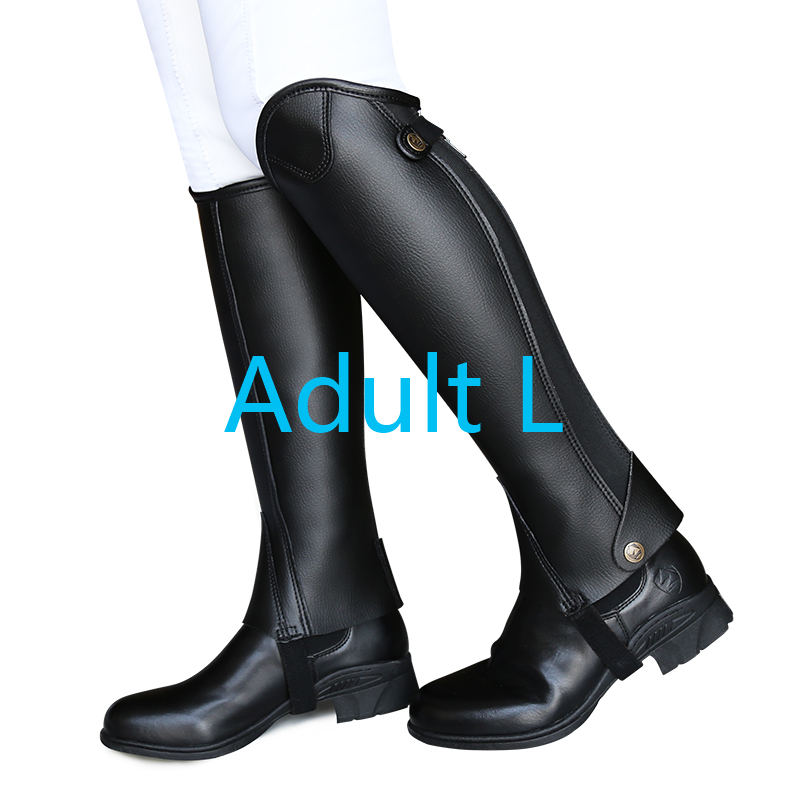 Ультра-Волоконный наездник, защита ног для верховой езды, удобные и износостойкие наездники, оборудование XXXXL для взрослых и детей - Цвет: Композитный материал