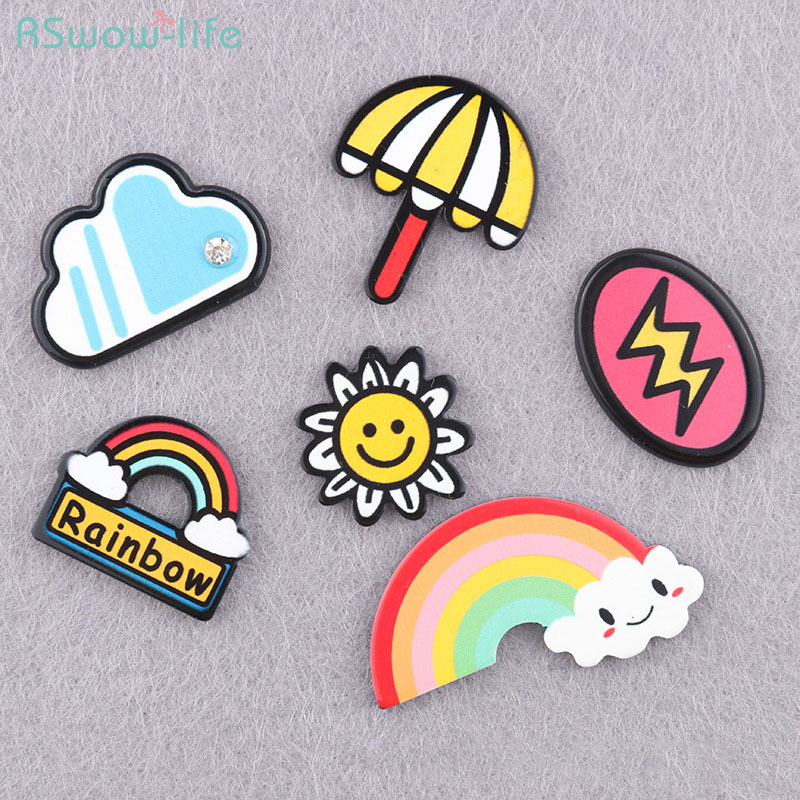 Cute Cartoon Resin Badge Brooch Backpack Accessories Clothing Accessories Weather Style For Clothes Decorated Or Give To Friends