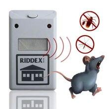Rodent mole reject rat pest repeller repellent ultrasonic bug eu mosquito