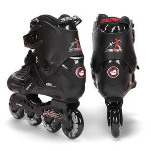 Image 5 - Japy paten 100% orijinal SEBA yüksek lüks HD yetişkin tek sıra tekerlekli paten siyah rulo kayak ayakkabıları Slalom slayt FSK Patines Adulto