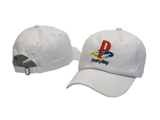 2017 SWTN Pretty Boy Baseball Cap Playstation Hat Adjustable Snapback  Strapback Dad Hat Men Women Hat 946d06961d67