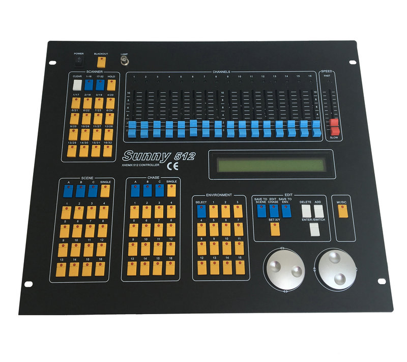 Rasha Hot Sale Stable Quality Sunny 512 Controller Stage Light Equipemnts,Disco Light Console,Stage Light Control System 2 YearsRasha Hot Sale Stable Quality Sunny 512 Controller Stage Light Equipemnts,Disco Light Console,Stage Light Control System 2 Years