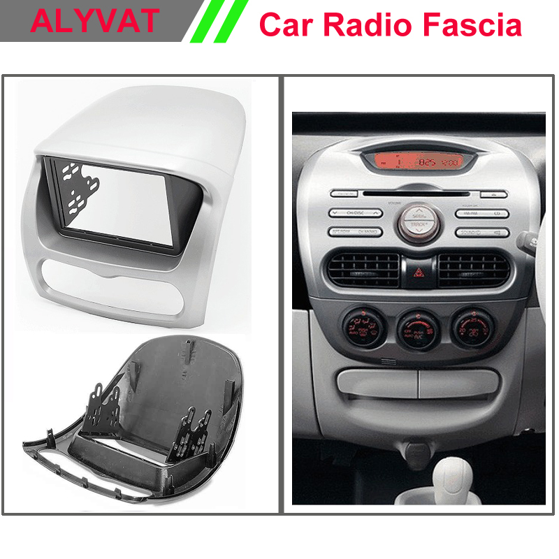 Car Radio Frame Fascia for KIA Picanto (TA), Morning (TA)(Left wheel) Stereo Dash Facia Trim Surround CD Installation Kit ityaguy fascia for ford ranger 2011 stereo facia frame panel dash mount kit adapter trim