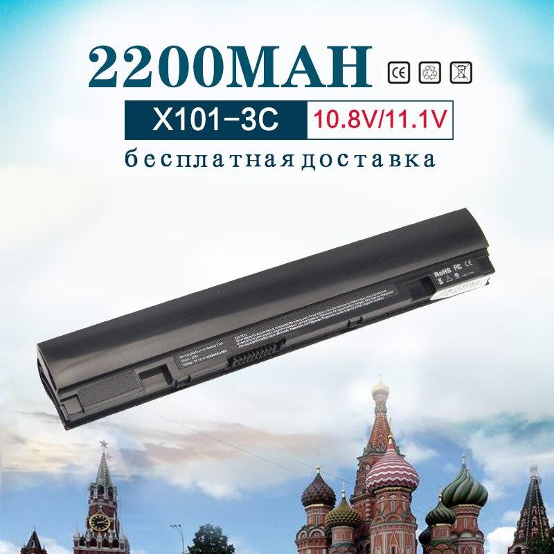 10.8 V/11.1 V 2200 mAh NOIR Batterie D'ordinateur Portable pour ASUS A31-A32-X101 x101 pour Eee PC X101 X101C X101CH X101H 3 Cellulaire