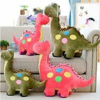 Fancytrader الكبير العملاق القطيفة دمية لعبة المصباح أنيمي الديناصور الديناصور 30 بوصة أحمر أخضر أزرق المتاحة للأطفال