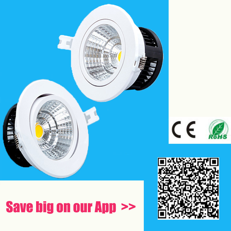 Lights & Lighting Anti-fog Dimmable Led Downlight Cob Ceiling Spot Light 5w 10w 20w 30w Ceiling Recessed Lights Warm Cool White Indoor Lighting Downlights