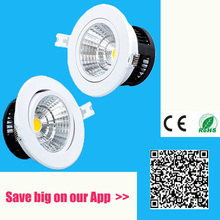 ФОТО Anti-fog Dimmable Led Downlight COB Ceiling Spot Light 5w 10w 20w 30W ceiling recessed Lights Warm Cool White Indoor Lighting