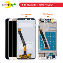 купить For Huawei P Smart LCD Display Touch Screen Digitizer Assembly With Frame FIG LX1 LA1 LX2 LX3 Screen Mobile Phone Replacement по цене 1121.31 рублей