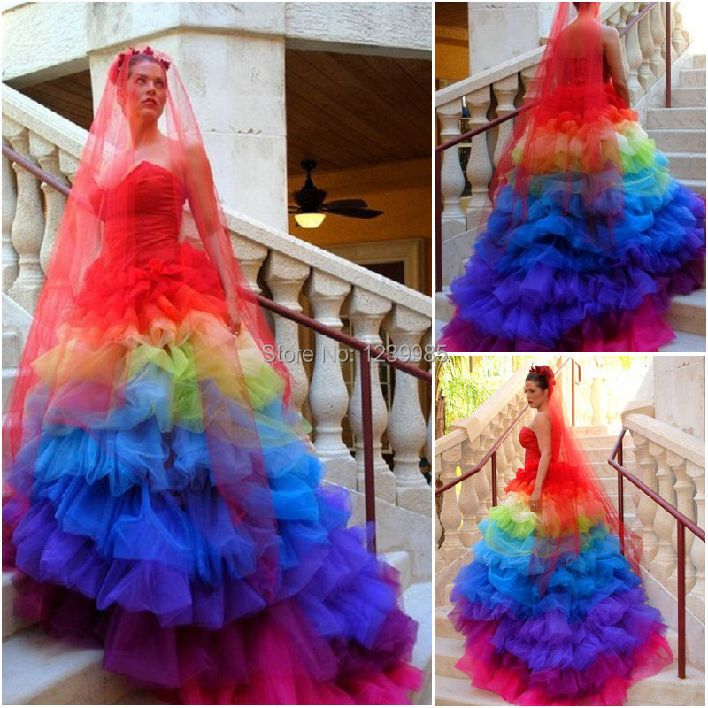 Wedding rainbow dress for sale forecast dress in on every day in 2019