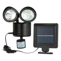 Dual Security เครื่องตรวจจับพลังงานแสงอาทิตย์ไฟ Motion Sensor 22 LED Floodlight กลางแจ้ง Garden   M25-ใน ฟลัดไลท์ จาก ไฟและระบบไฟ บน