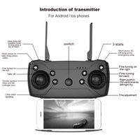 LAUMOX M69G FPV RC Drone 4K Camera Optical Flow Selfie Dron Foldable Wifi Quadcopter Helicopter VS VISUO XS816 SG106 SG700 X12 5