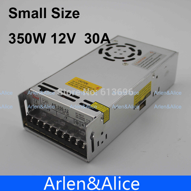 350W 12V 30A Small Volume Single Output Switching ps