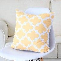 Pillow Cases Bedding 45x45 cm Pillow Cases For Wedding 6PC/Set Home Decorative Linen Sofa Cushion Throw Pillow Cover L625