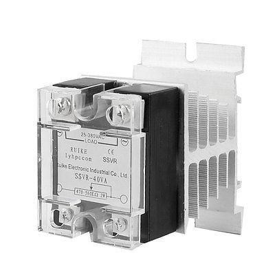 SSR-40VA Solid State Relay Voltage Resistance Regulator 40A 25-380V AC