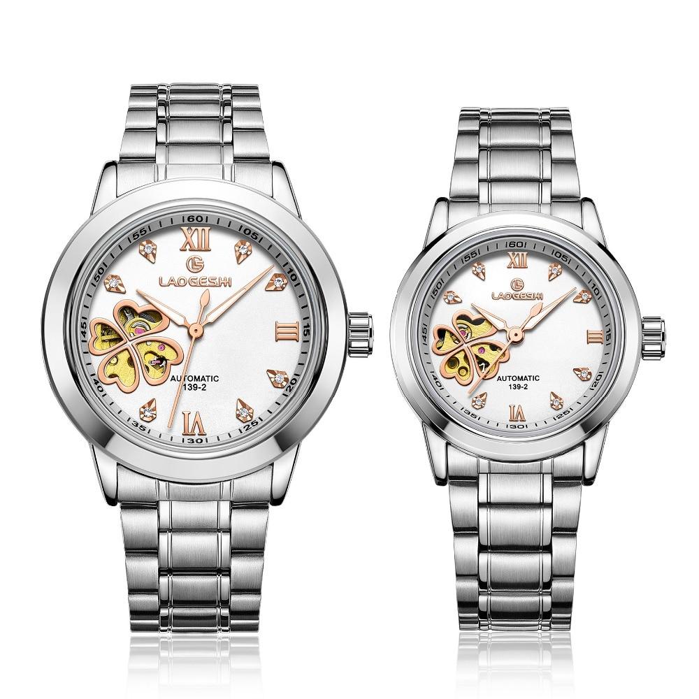 Mens Watches women Top Brand Automatic Mechanical Watch Men Full Steel Business Waterproof Sport Watches Relogio Masculino