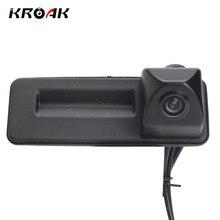 HD CCD вид сзади автомобиля Камера для Audi A1/Skoda/ROOMSTER/Fabia/Octavia/Yeti/ превосходное Ночное видение обратный Камера