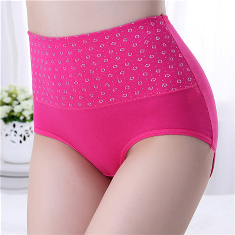 7f1a65fc6156 Detail Feedback Questions about Women Panties High Waist Large Size Underwear  Cotton High Waist Underwear Comfortable UndiesPanties For Ladies Briefs ...