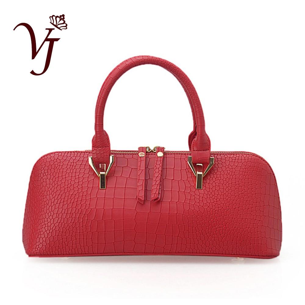 Luxury New Designer Women Alligator leather Handbags Female Shoulder Bag Zipper Totes bag Lady Messenger Bags Sac a main