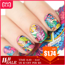 44pcs/lot Flowers Nail Art Sticker Decorations Manicure Tips Full Cover Wraps Nail Water Transfer Decals Set SABLE2535 2578-in Stickers & Decals from Beauty & Health on Aliexpress.com | Alibaba Group