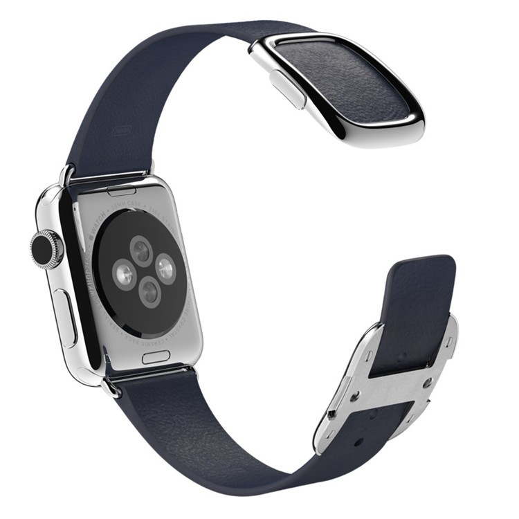 Blue-Black-Brown-Pink-Original-1-1-Modern-Buckle-Leather-band-for-Apple-Watch-band-38mm (5)