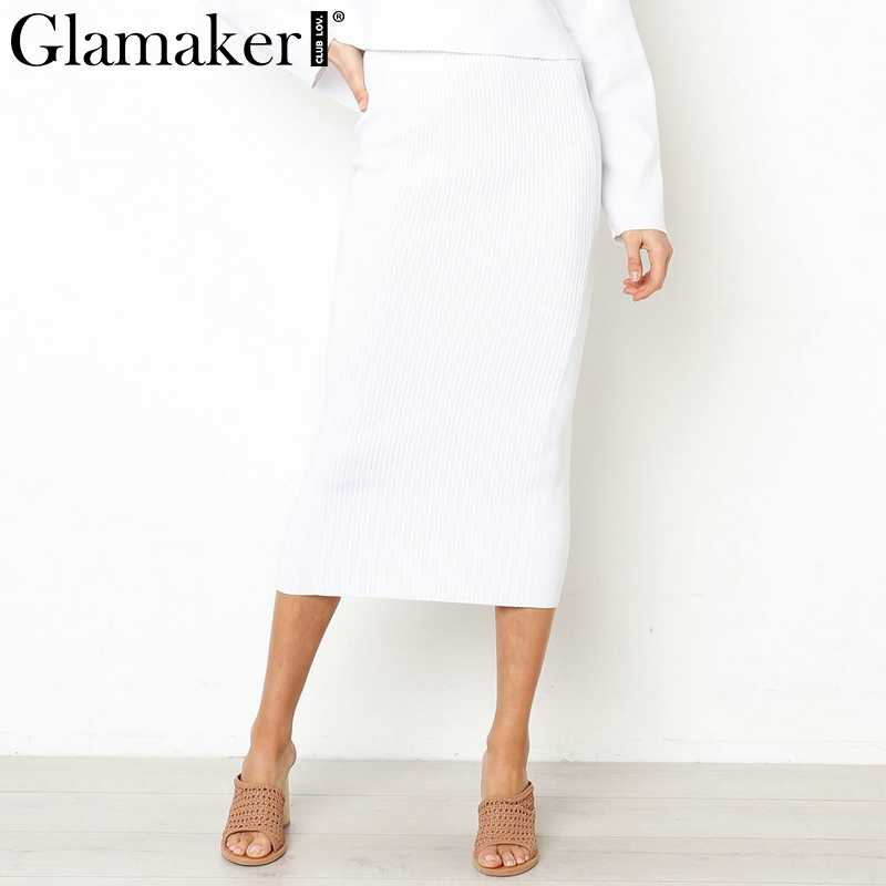 a14edb1341cc1 Detail Feedback Questions about Glamaker White knitted women long ...
