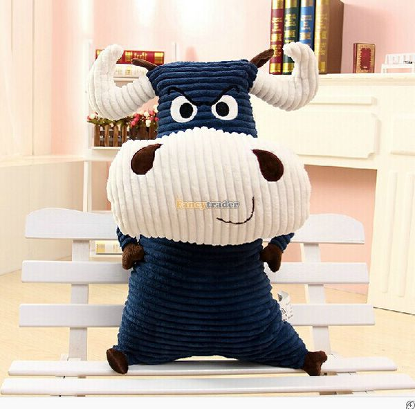ФОТО Fancytrader 28'' / 70cm Funny Giant Stuffed Soft Plush Large Cow Animal Toy, 2 Colors Available! Free Shipping FT50281