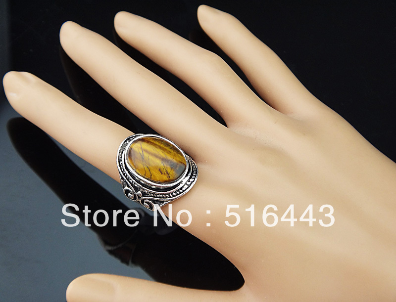 lyst ring lattice seven metallic gallery silver in rings tiger london jewelry product for eye men tigers