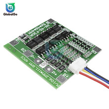 цена на 4S 30A 14.8V Li-ion Lithium Battery 18650 BMS Charger Protection Board PCB Protection Board Balance Integrated Circuits Module