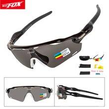 Polarized Sports Men Cycling Sunglasses UV400 Protection Run