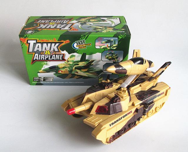 Tanques de deformación eléctrica de Múltiples funciones automático del tanque de deformación plana universales Eléctricos juguetes eléctricos