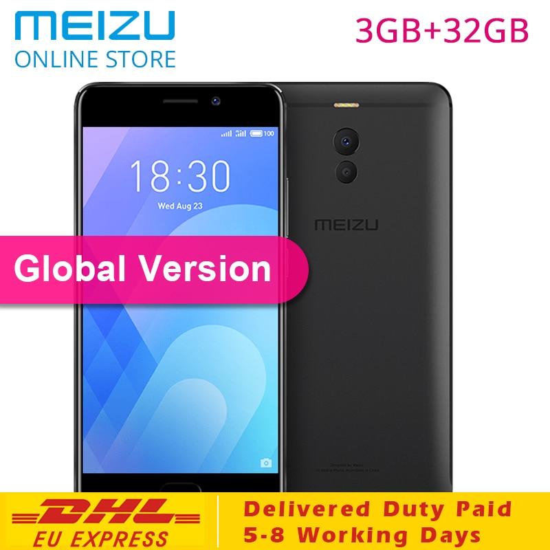 Meizu M6 Note 3GB 32GB ROM M721H Global Version CellPhone 4GLTE Snapdragon 625 Octa Core 5