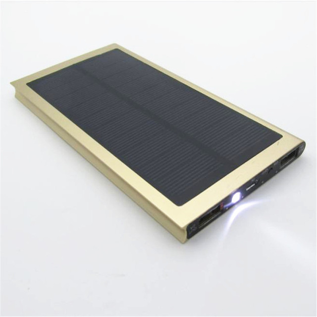 Ultra-thin Solar Power Bank 20000 mAh 2