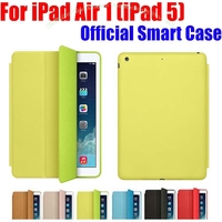 1PC Brand New Official Design Fashion Smart Case For Apple IPad Air IPad5 Ultra Thin Filp
