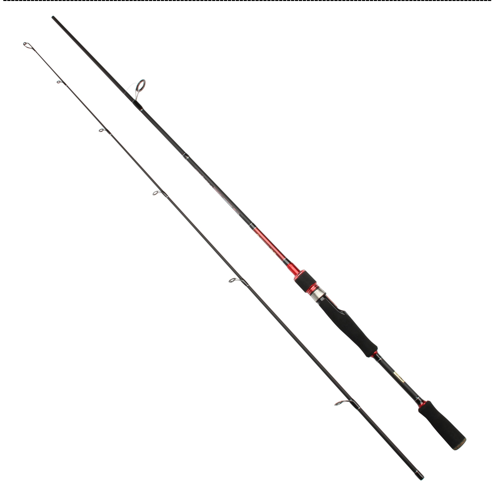 ROSEWOOD 2.1m M Power Ul Spinning Baitcasting Fishing Rod 5-18LB Line Weight Ultra Light Carbon Spinning Rod Bait Caster Rod (10)
