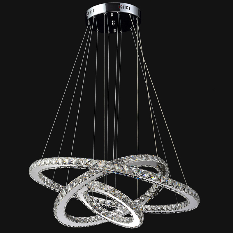 Diamond Ring Led K9 Crystal Chandelier