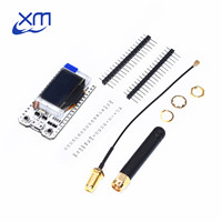 2pcs SX1276 ESP32 LoRa 868MHz 915MHz 0 96 Inch Blue OLED Display Bluetooth WIFI Kit Development