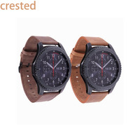 Retro Style Leather Watch Strap Band For Samsung Gear S3 Frontier Strap For Gear S3 Classic