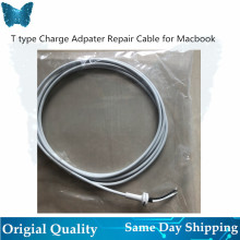 10pcs/lot Replacement T tip Adapter Cable Cord FOR Macbook 60W 85W 45W Repair Adapter Charger Repair Cable